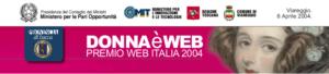 Premio DonnaèWeb 2004